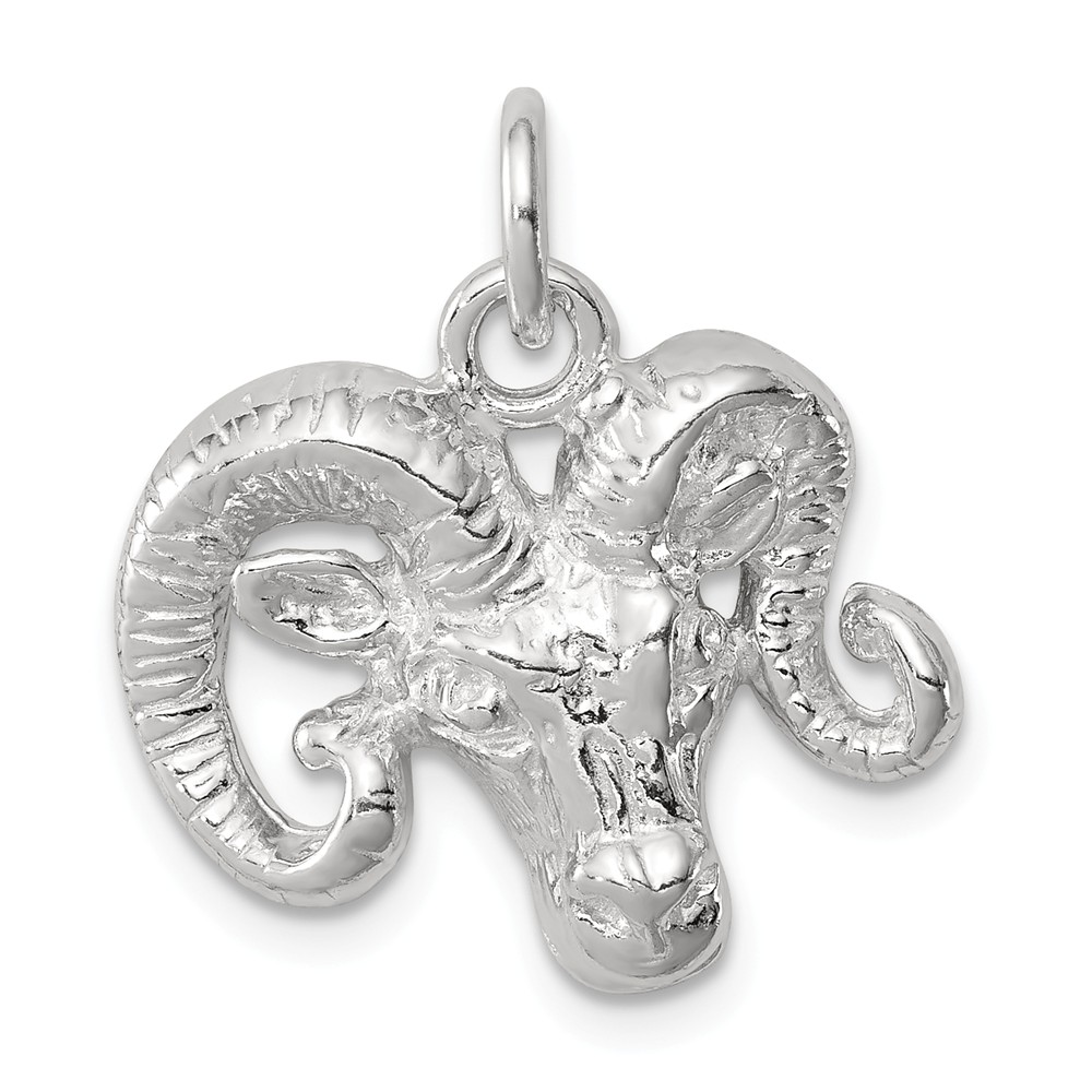 31mm x 19mm Solid 925 Sterling Silver Crystal Family Pendant Charm