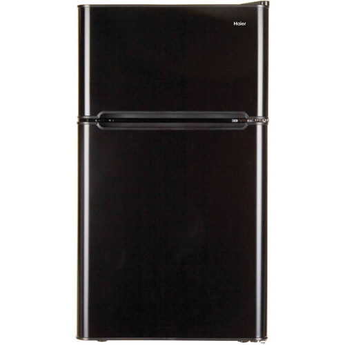 Haier 3.3-cu. ft. 2-Door Refrigerator, Black