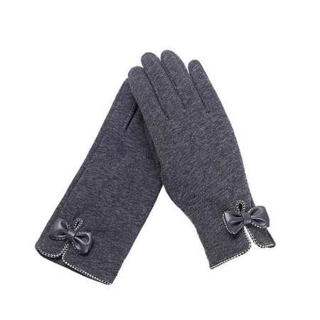 Women's Touch Screen Gloves Winter Thick Warm Insulation Lined