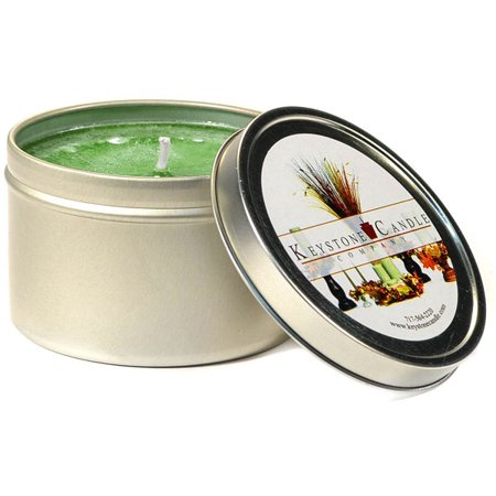 Bayberry Scented Candles - 1 Pc Tin Candles Bayberry Scented Tins 4 oz 2.5 in. diameter x 1.75 in. tall