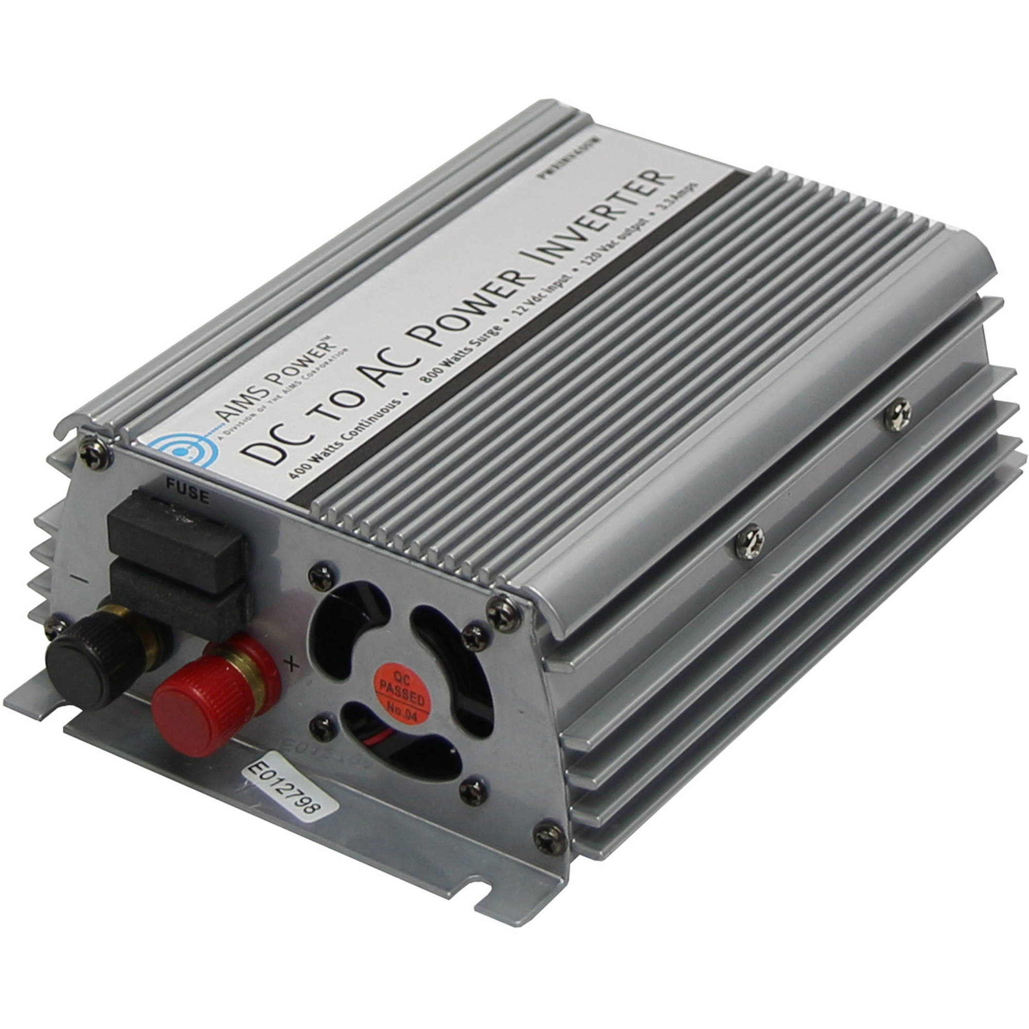 AIMS Power 400 Watt 12V Modified Sine Inverter with Cables