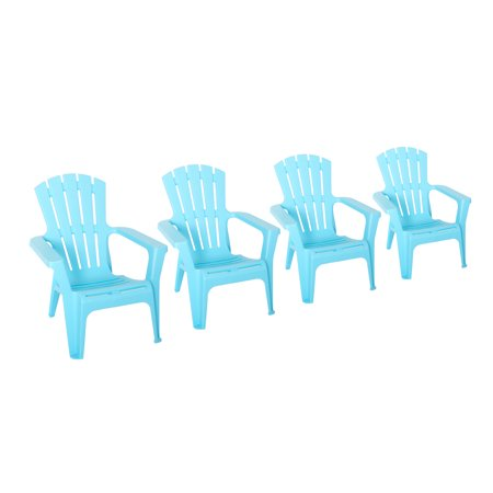 Incadozo Adirondack Chair In Light Blue 4 Pack