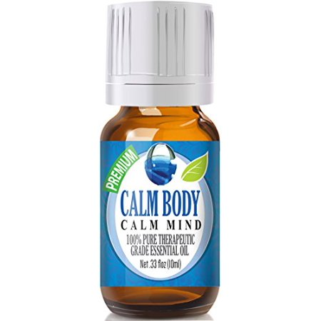 Healing Solutions - Calm Body & Calm Mind Blend Oil (10ml) 100% Pure, Best Therapeutic Grade Essential Oil -