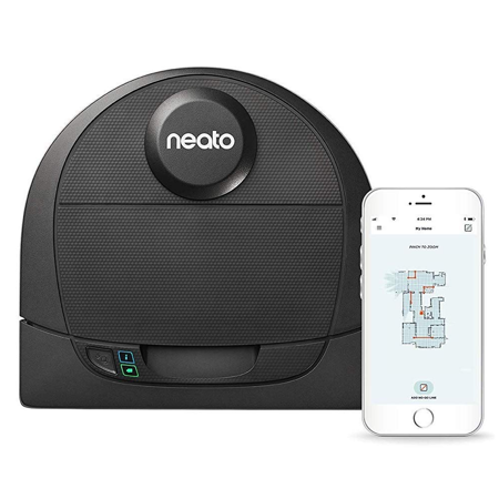 Neato Botvac D4 Wi-Fi Connected Robot Vacuum with Room Mapping