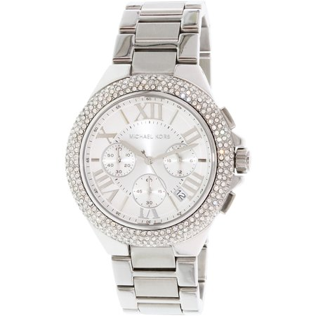 Michael Kors Women's Camille MK5634 Silver Stainless-Steel Quartz Fashion Watch