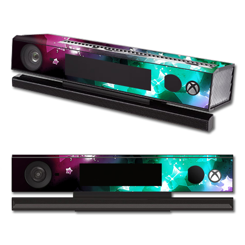 Mightyskins Protective Vinyl Skin Decal Cover for Microsoft Xbox One Kinect wrap sticker skins Glow Stars