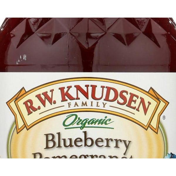 R.w. Knudsen Organic Juice - Blueberry Pomegranate - Pack of 6 - 32 Fl Oz