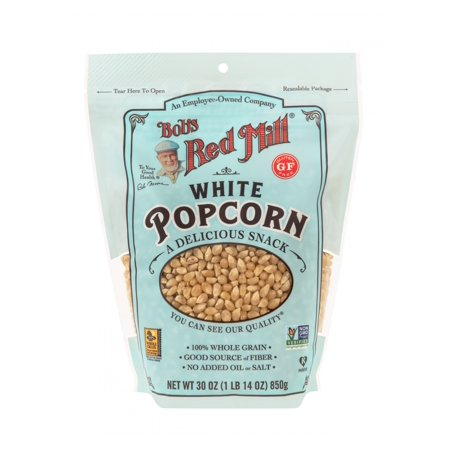 Bob's Red Mill Whole White Popcorn, 30-ounce - Red Popcorn