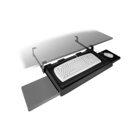 FR1602 Keyboard Tray Pull Out w Slide Out Mouse