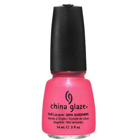 China Glaze Nail Polish, Pink Plumeria, 0.5 Oz