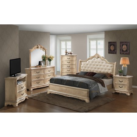 Glory Furniture Classique 2 Drawer Nightstand Walmart Com