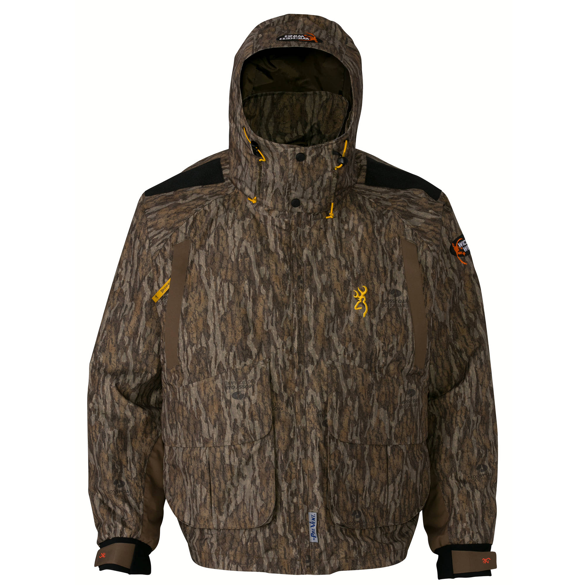 Browning Wicked Wing Timber Wader Jacket Mossy Oak Bottomlands