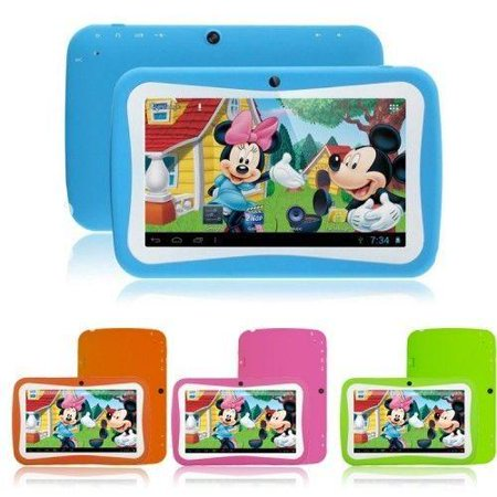 KIDS Tablet Wopad Android 4.4 Rock Chip 3126 Quad Core 8GB Multi-Touch Screen - Blue (Tablet Laptop White)