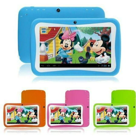 KIDS Tablet Wopad Android 4.4 Rock Chip 3126 Quad Core 8GB Multi-Touch Screen - (Kurio Touch 4s Android White Handheld Tablet)
