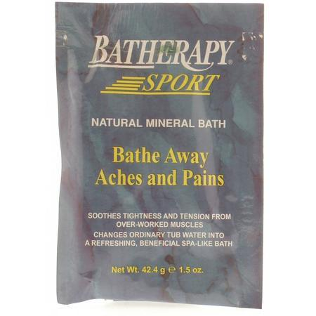 Queen Helene - Batherapy Sport Natural Mineral Bath, 1.5 oz