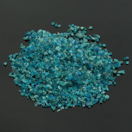 Mrosaa 100g Miniature Fairy Garden Natural Blue Apatite Chips Gravel 700-900pcs - image 2 de 4