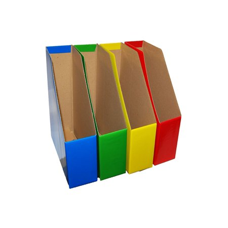 Magazine File Holders Bold Colors Coordinate Important Files By Delectable Colorful Magazine Holders