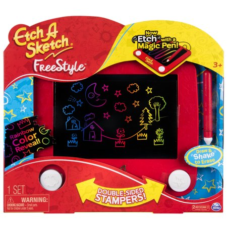 Etch A Sketch - Freestyle Drawing Pad with Stylus and (Doodle Board)