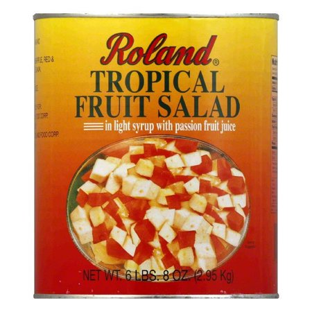 Roland Tropical Fruit Salad in Light Syrup with Passion Fruit Juice ...