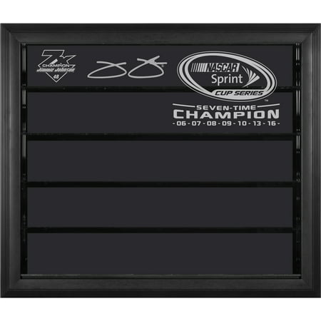 Jimmie Johnson Fanatics Authentic 2016 Sprint Cup Champion 1: 24 Scale 7- Car Die-Cast Display Case - No Size