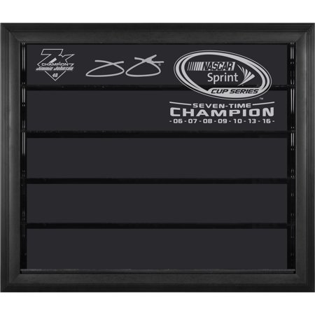 Jimmie Johnson Fanatics Authentic 2016 Sprint Cup Champion 1: 24 Scale 7- Car Die-Cast Display Case - No