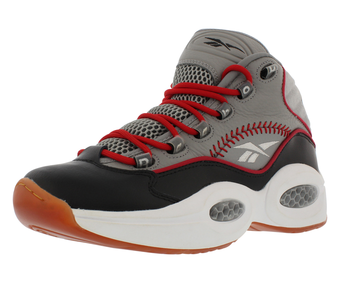 Reebok Question Mid Practice Basketball Men's Shoes Size 8