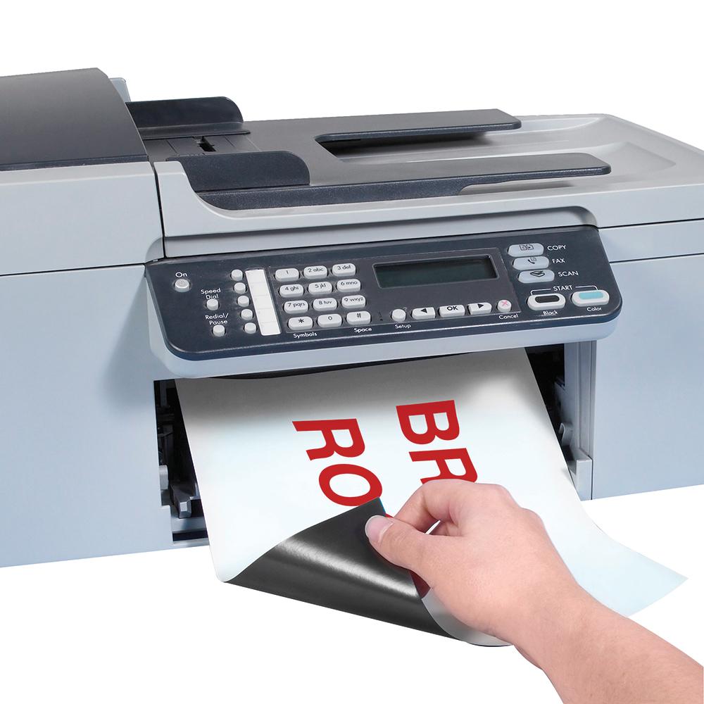 Box Partners Magnetic Sheets,10 Labels per Sheet,8.5x11,100/CS - BXP LH147