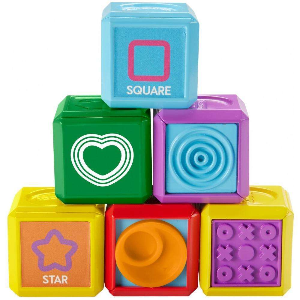 Fisher Price Laugh & Learn First Words Shape Blocks by Fisher-Price