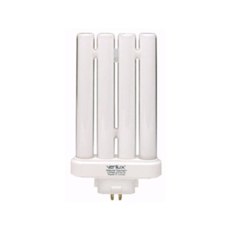 Verilux Twin Tube Bulb 27 W 1715 Lumens 6500 K Energy Star : No Tube Bx Frosted