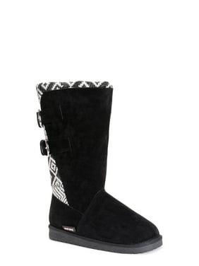 Muk Luks 0016969002-7 Womens Jean Boots, Oxford - Size 7