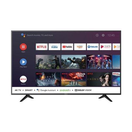 """Hisense 58"""" Class 4K Ultra HD (2160p) HDR Android Smart LED TV (58H6550E)"""