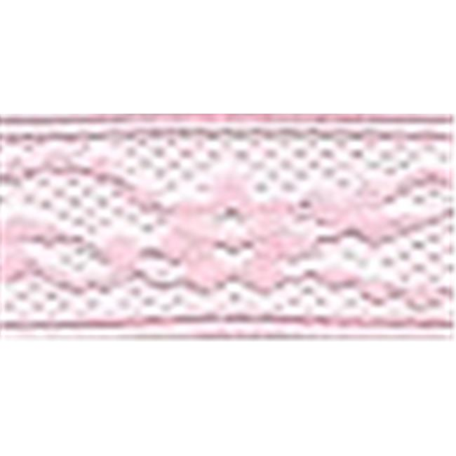 Flexi-Lace Hem Tape 3-4 in. 3 Yards-Pink