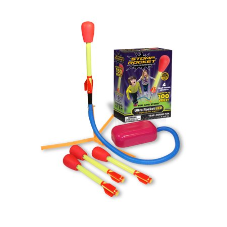 Stomp Rocket® Ultra LED, 4 Rockets - Air Rocket Toy