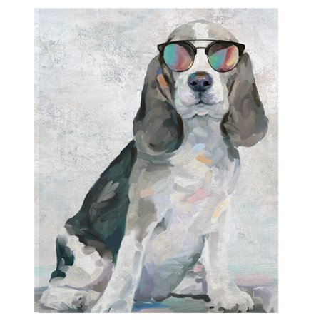 Masterpiece Art Gallery Shady Pups IV Dogs In Sunglasses By Studio Arts Canvas Art Print 22