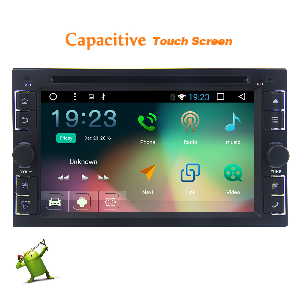 Universal Car Stereo Android 6.0.1 Marshmallow Double Din...