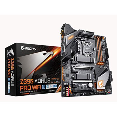 Aorus Ultra Durable Z390 AORUS PRO WIFI Desktop Motherboard - Intel Z390 Chipset - Socket H4 LGA-1151