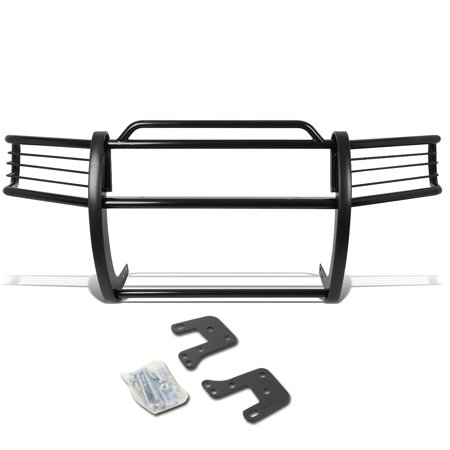 For 1994 to 2002 Dodge Ram Pickup Truck Front Bumper Protector Brush Grille Guard (Black) 95 96 97 98 99 00 01 01 Dodge Ram Pickup