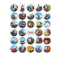30 Thomas The Tank Engine Train Edible Cupcake Topper