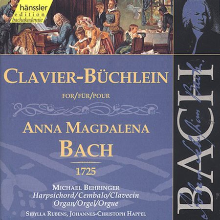 (Clavier Book for Anna Magdalena Bach 1725)