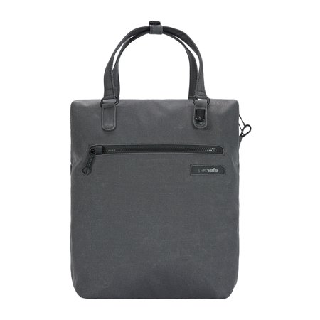 Intasafe Anti Theft Backpack Tote Charcoal
