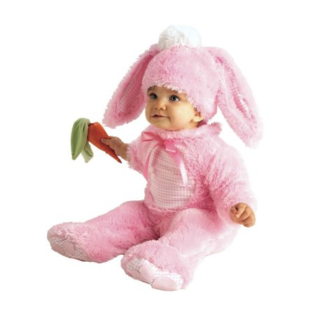 Halloween Precious Pink Wabbit Infant Costume](Halloween Costume Ideas For Family With Infant)