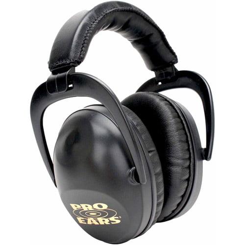 Pro Ears Standard Hearing Protection Ultra Sleek, NRR 26, Black