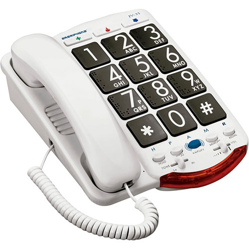 Clarity JV-35B Amplified Corded Telephone