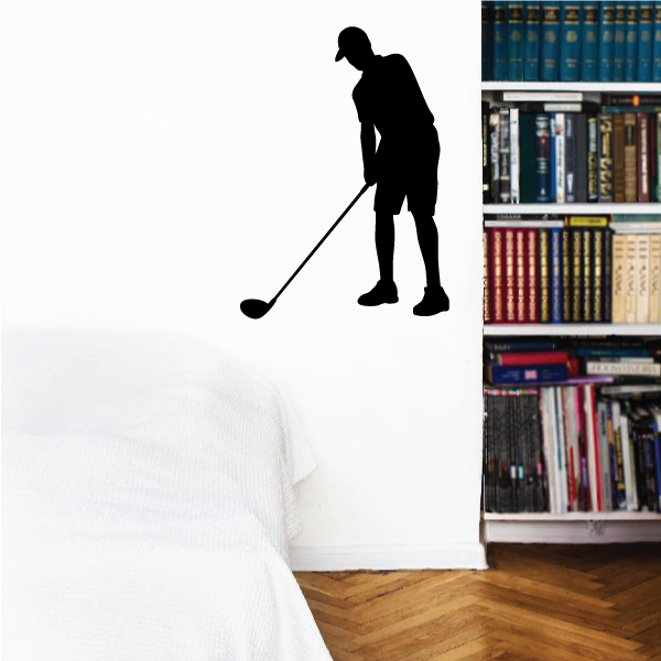 Golf Driver Wall Decal - Vinyl Decal - Car Decal - Vd017 - 36 Inches