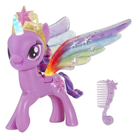 My Little Pony Rainbow Wings Twilight Sparkle with Lights and Moving Wings - My Little Pony Cupcake Topper