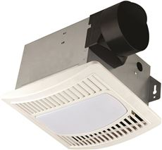 Monument Exhaust Fan With Light, 70 Cfm, 4 Sone, 4 In. Duct