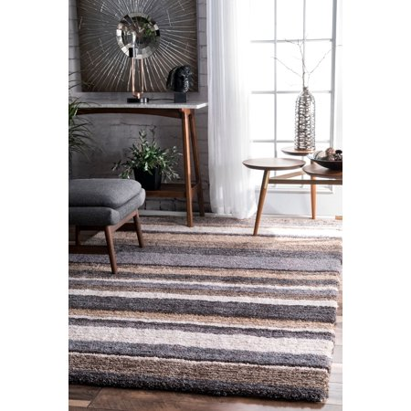 Chic Hand Tufted Rug - nuLOOM Hand Tufted Classie Shag Area Rug