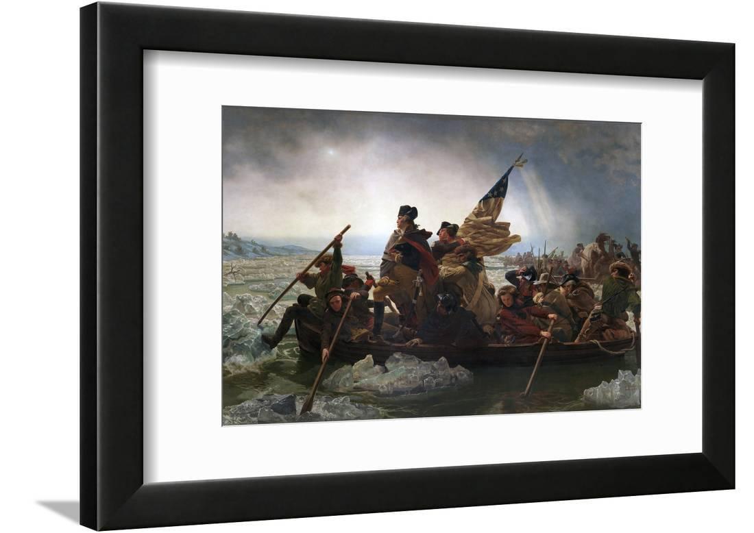 Washington Crossing The Delaware By Emanuel Leutze Traditional