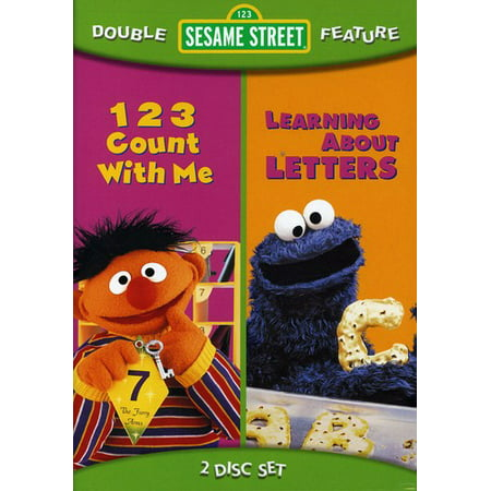 123 Count With Me / Learning About Letters (DVD)