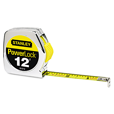 stanley tools. stanley tools die cast tape rule, 1/2\